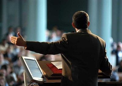 pastor advirtiendo