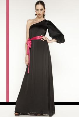 vestidos negros largos fiesta Dolores Promesas