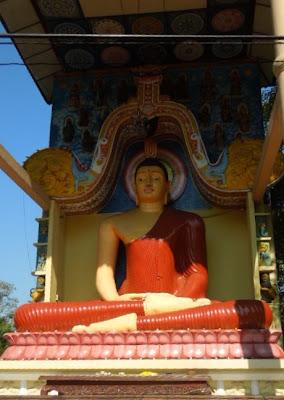 Будда, Шри-Ланка, ноги