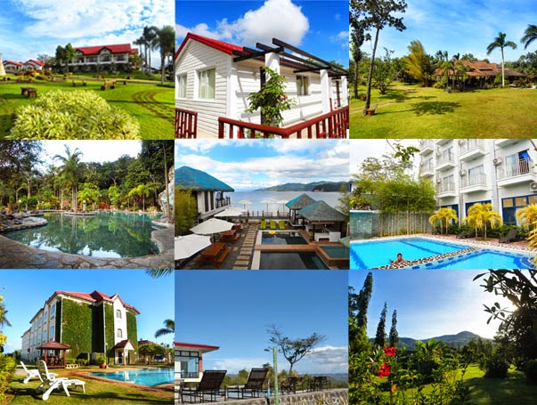 Middle L R Momarco Resort Anilao Tanlak Beach And NDN Grand Hotel