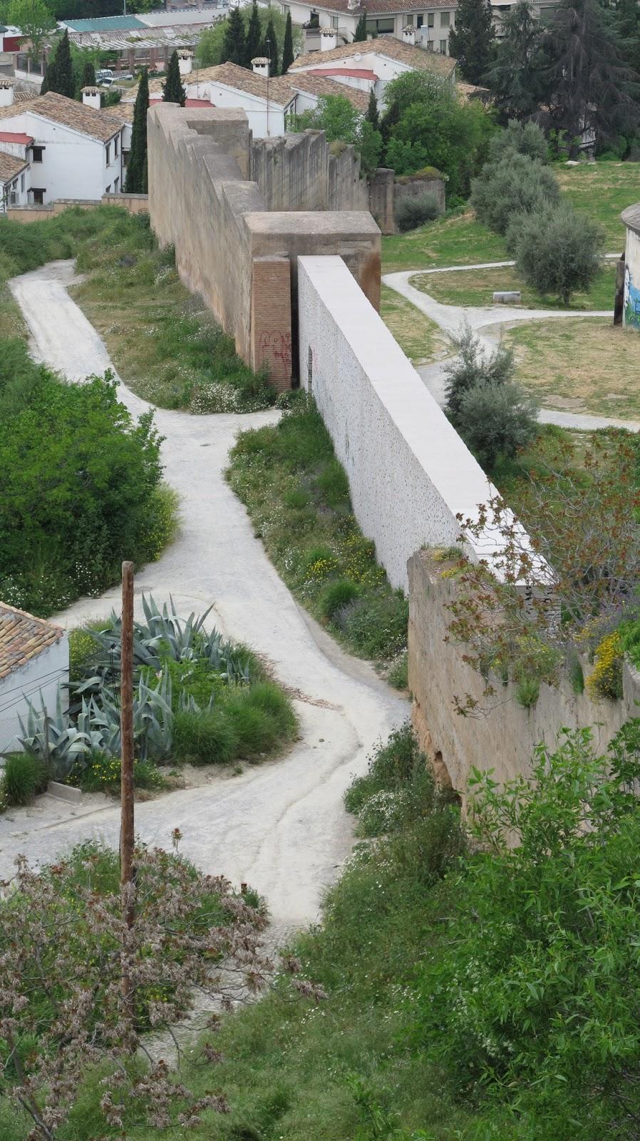 M ster en paisajismo jardiner a y espacio p blico granada muralla zir del albaic n granada - Master en paisajismo ...