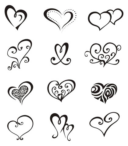 Love Heart Tattoo Design on Hearts Tattoo Heart Tattoos Designs 1539 Jpg