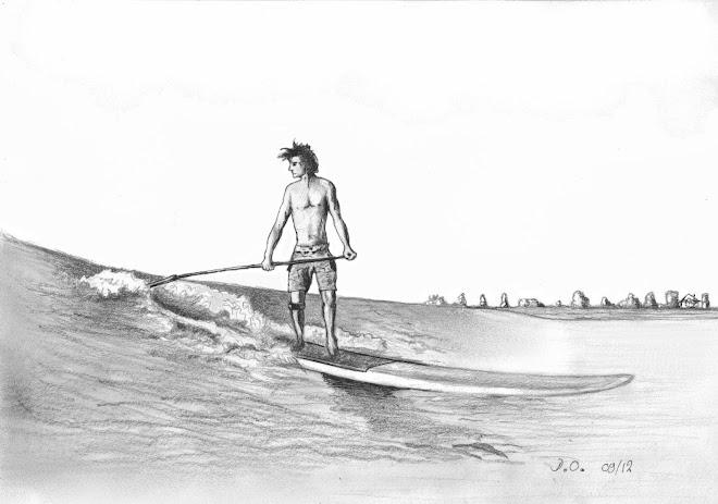 Surfeur sur le mascaret 2012