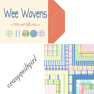 Moda WEE WOVENS Quilt Fabric