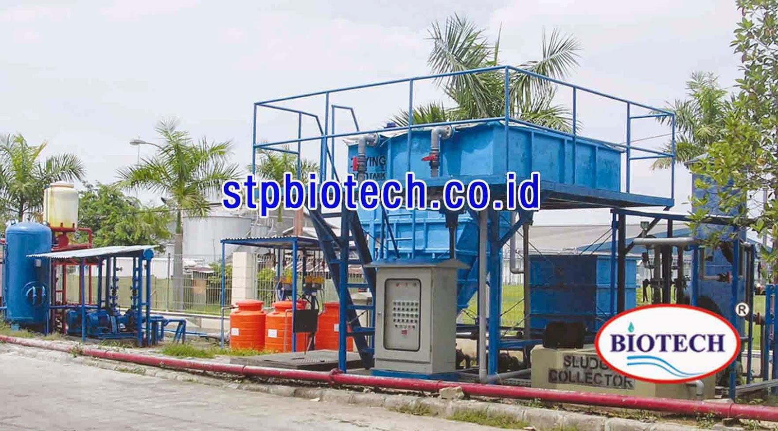 ipal biotech, wwtp biotech, instalasi pengolahan air limbah merk biotech