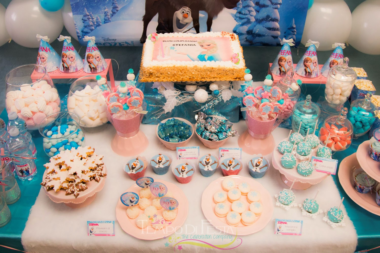 Top Tempo di Festa Blog: Frozen Party AW66