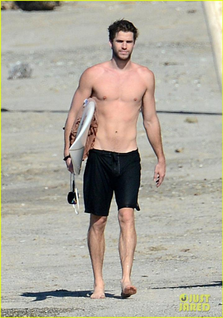Posted by James Troy at 09 48Liam Hemsworth Ripped