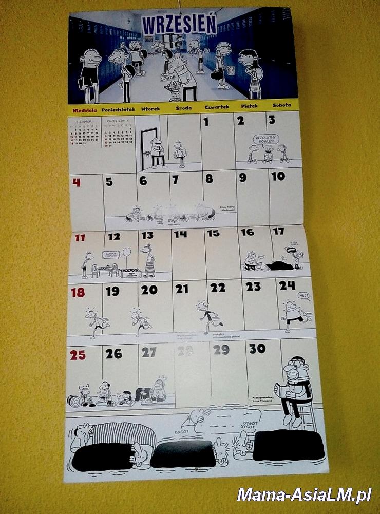 Nieziemski Kalendarz Cwaniaczka wrzesień