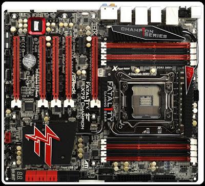 Spesifikasi Motherboard ASRock Fatal1ty X79 Champion