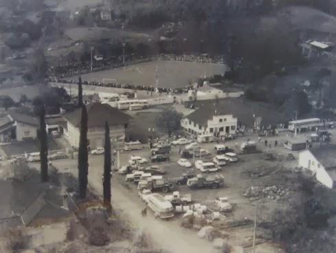 OLÍMPICO/PALMEIRAS X SANTOS (SP) AMISTOSO EM TAIÓ - 1967
