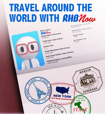 Travel around the world with RHBnow