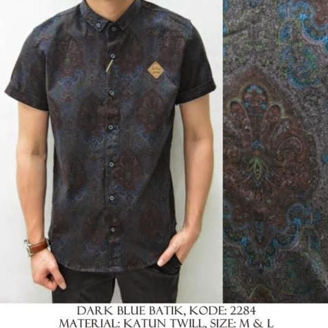 Inspirasi Desain Baju Batik Modern Terbaru Keren Gaul p