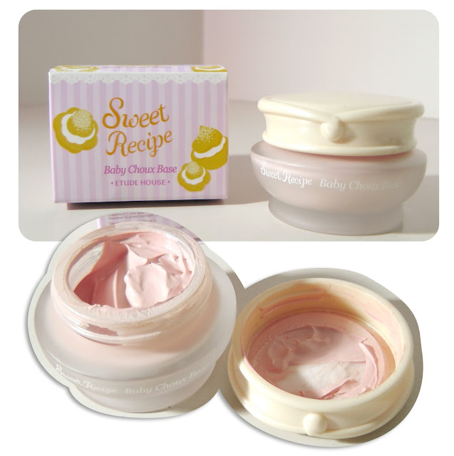 Etude House Sweet Recipe Baby Choux Base in #02 Berry Choux Review
