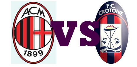 Milan VS Crotone