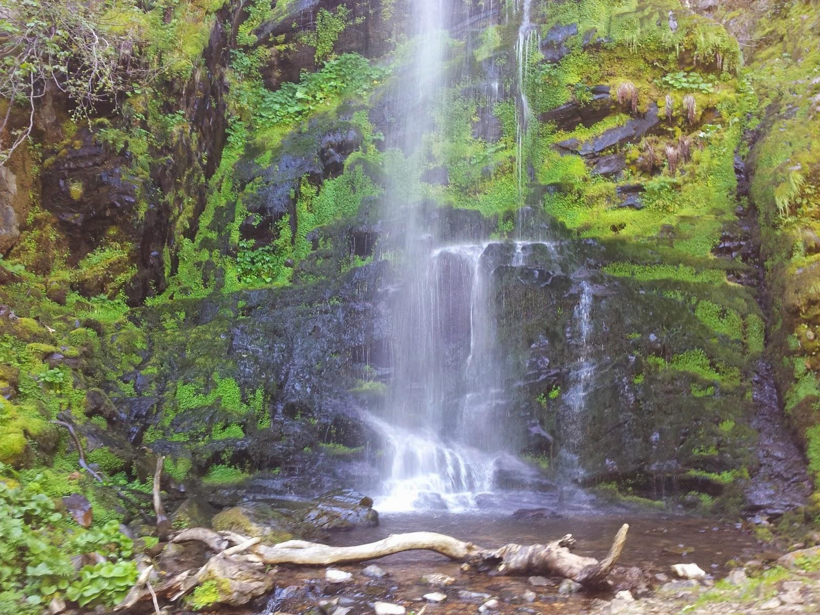Tiempodezapatillas cascada el gualt n for Cascada par