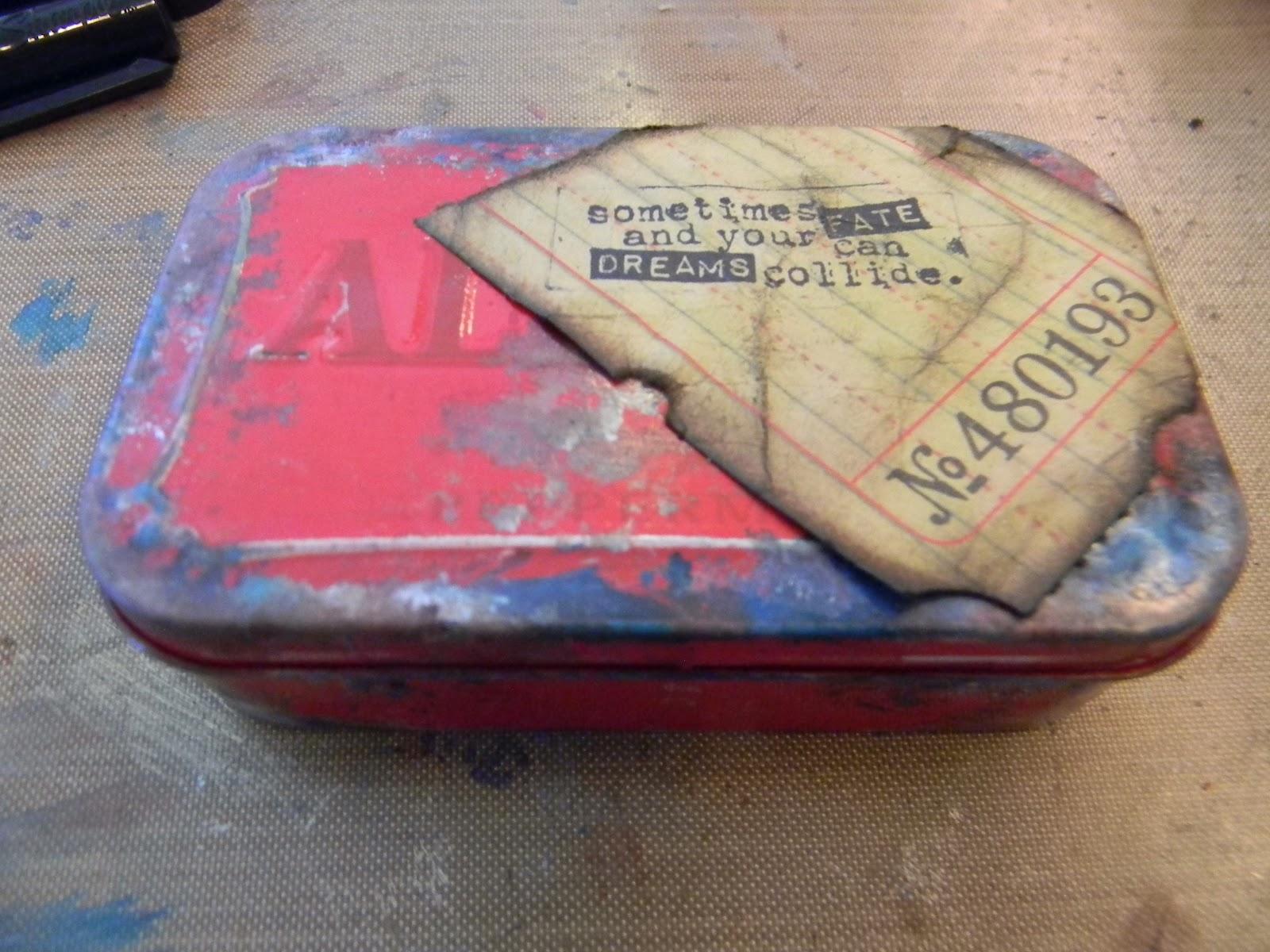 The Artful Maven Haven Vintage Business Card Holder