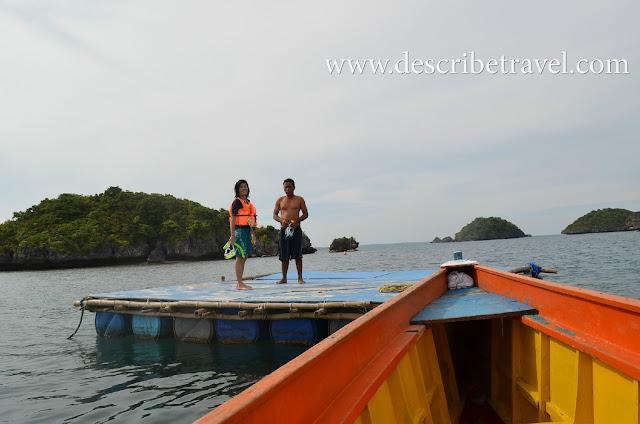 snorkeling spot hundred islands