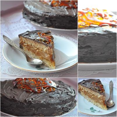 Начинка с вареной сгущенкой для торта