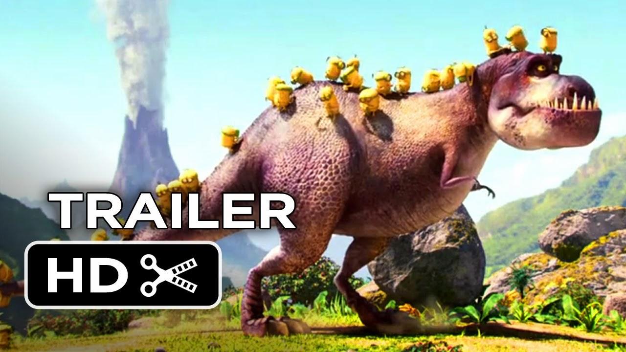Gambar Animasi Minions 2015 Terbaru Dinosaurus Selamat Tahun Baru