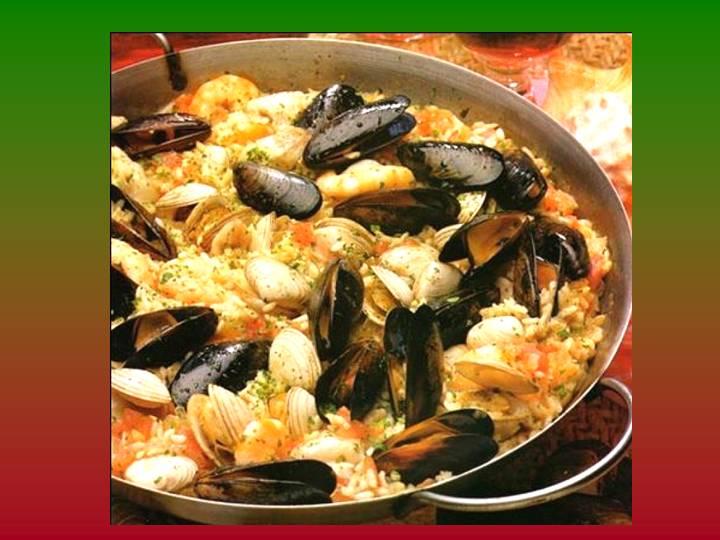 Cazuela de barro arroz con verduras mejillones y almejas - Arroz con verduras light ...