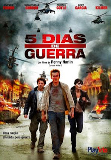 5 Dias de Guerra – BDRip Dublado – Torrent