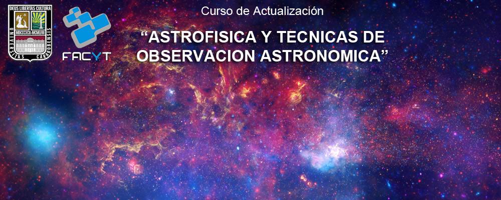Astrofísica y Tecnicas de Observación Astronómica. Practica