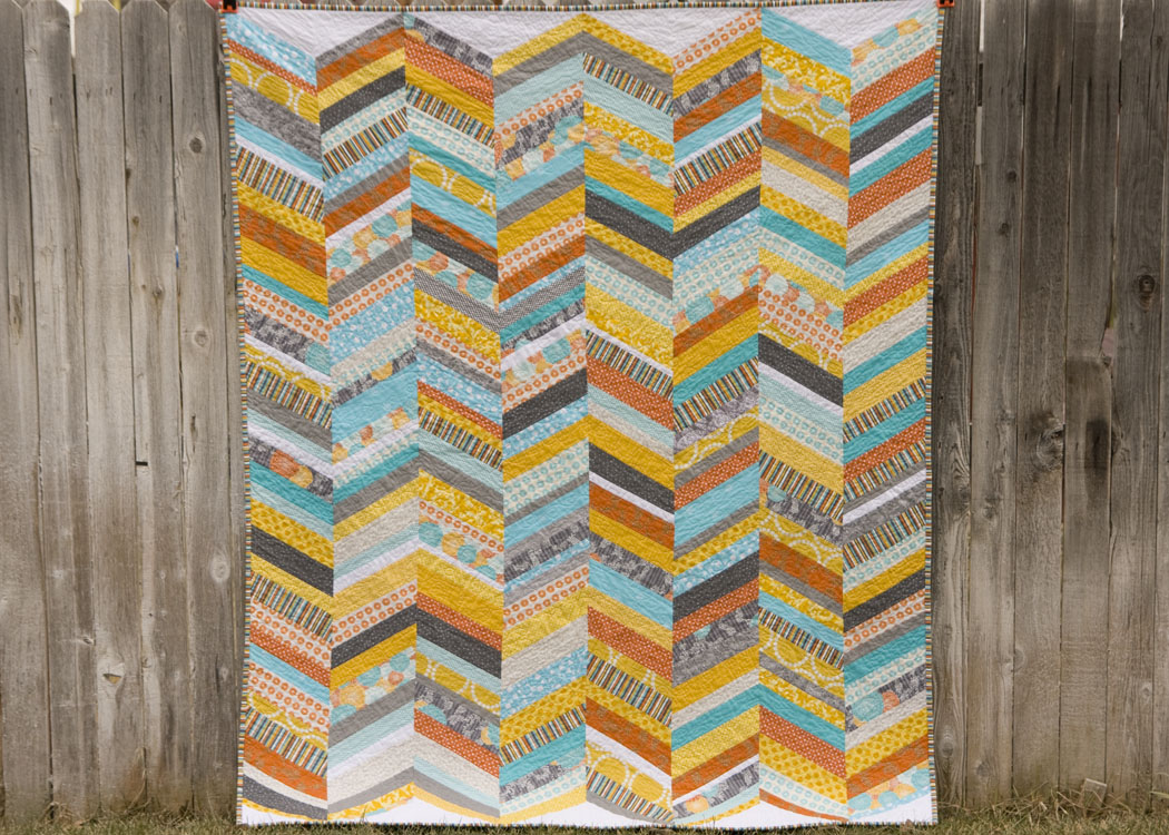 from the blue chair: Scrappy Chevron Quilt : chevron quilt - Adamdwight.com