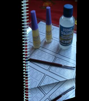 Curso de adesivos impressos para unhas
