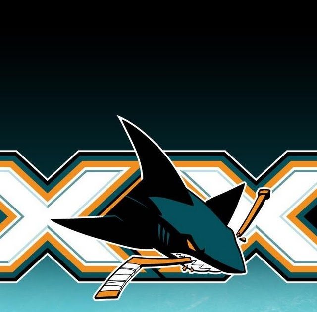 sharks logo   download iphone ipod touch android wallpapers