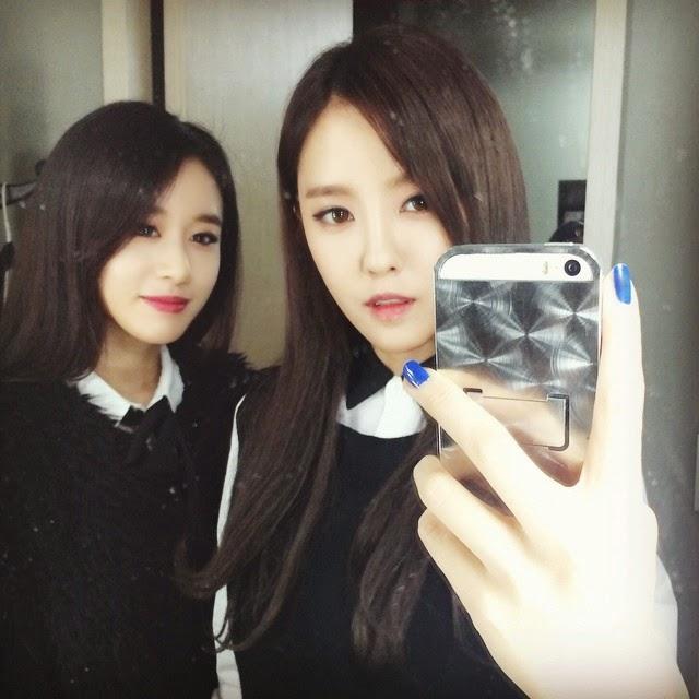 t-ara hyomin jiyeon selca pictures