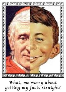 John Henry Cardinal Alfred E Newman