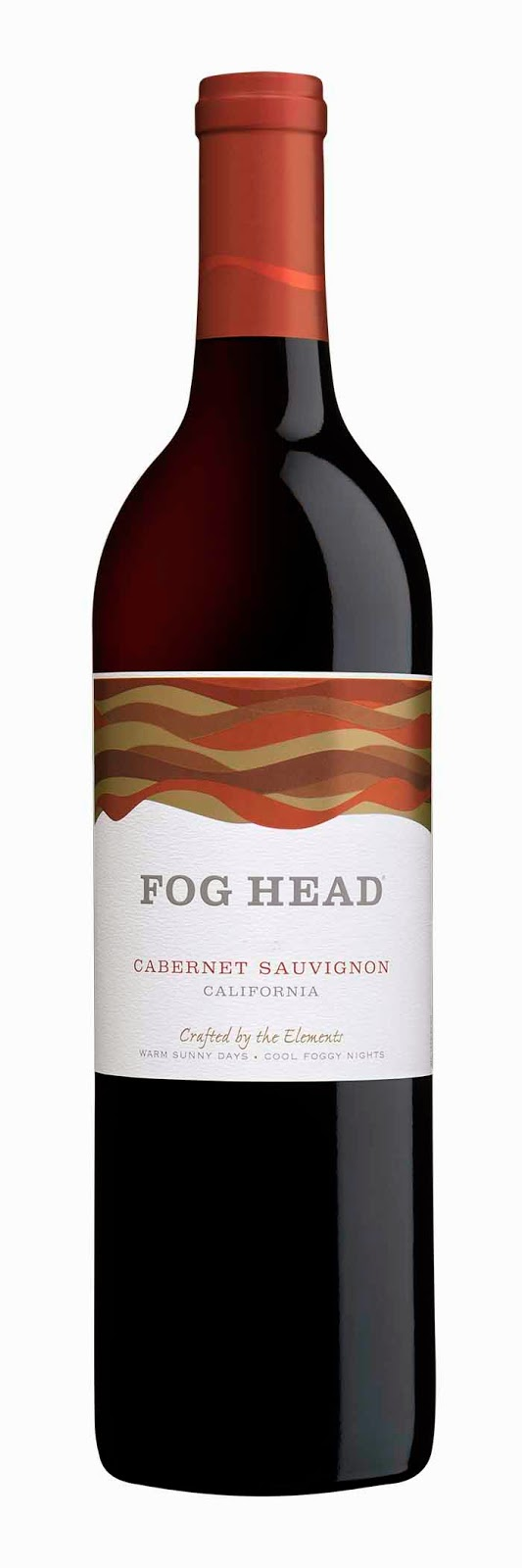 bottle of Fog Head Cabernet Sauvignon 2012 California