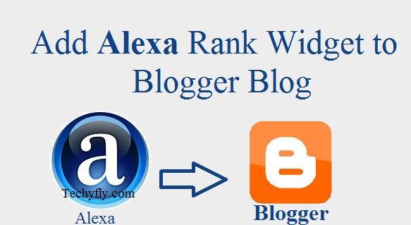 How to add Alexa Rank widget to Blogger Blog