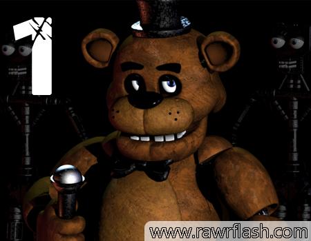 Jogos de terror: Five Nights at Freddy's game, jogo