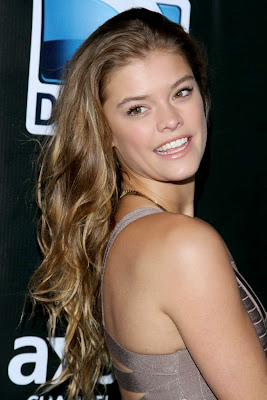 Nina Agdal DirecTV Super Saturday Night party New York, NY