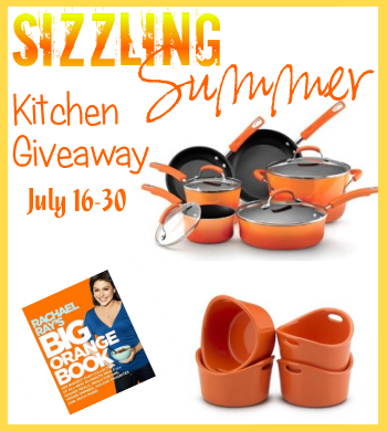 Rachael Ray, Pots and Pans, Contest, Giveaway