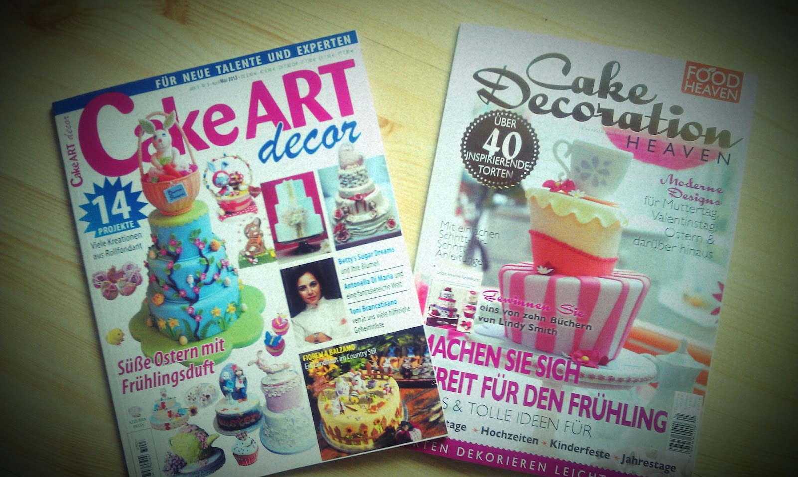 Cake Art Decor Zeitschrift : Betty?s Sugardreams - Blog: Heute am Zeitschriftenstand!