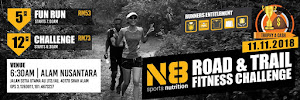 N8 Road & Trail Fitness Challenge 2018 - 11 November 2018