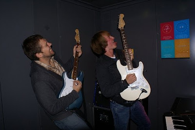 Duo Rock out Guitar