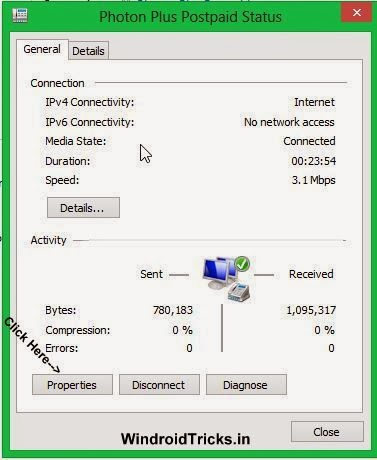 Sharing PC's Internet Connection
