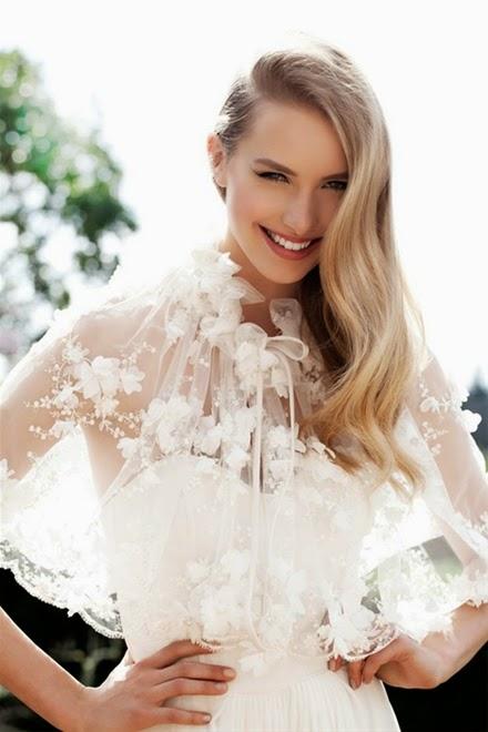 Những mẫu váy cưới mùa thu xu hướng năm 2014 cho cô dâu