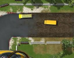 Okul Otobüs Yarışı Oyunu