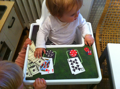 Themed placemats for Antilop highchair