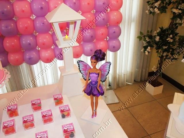 decoracao de aniversario infantil barbie butterfly provençal