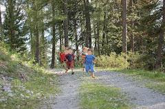 courir en forêt