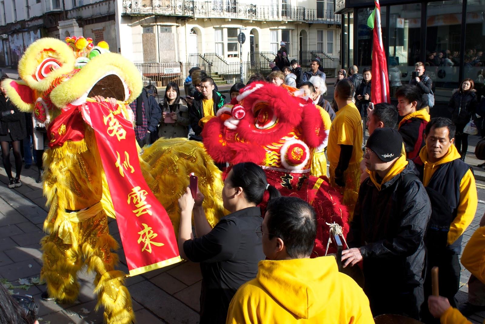 sea spray  celebrating chinese new year