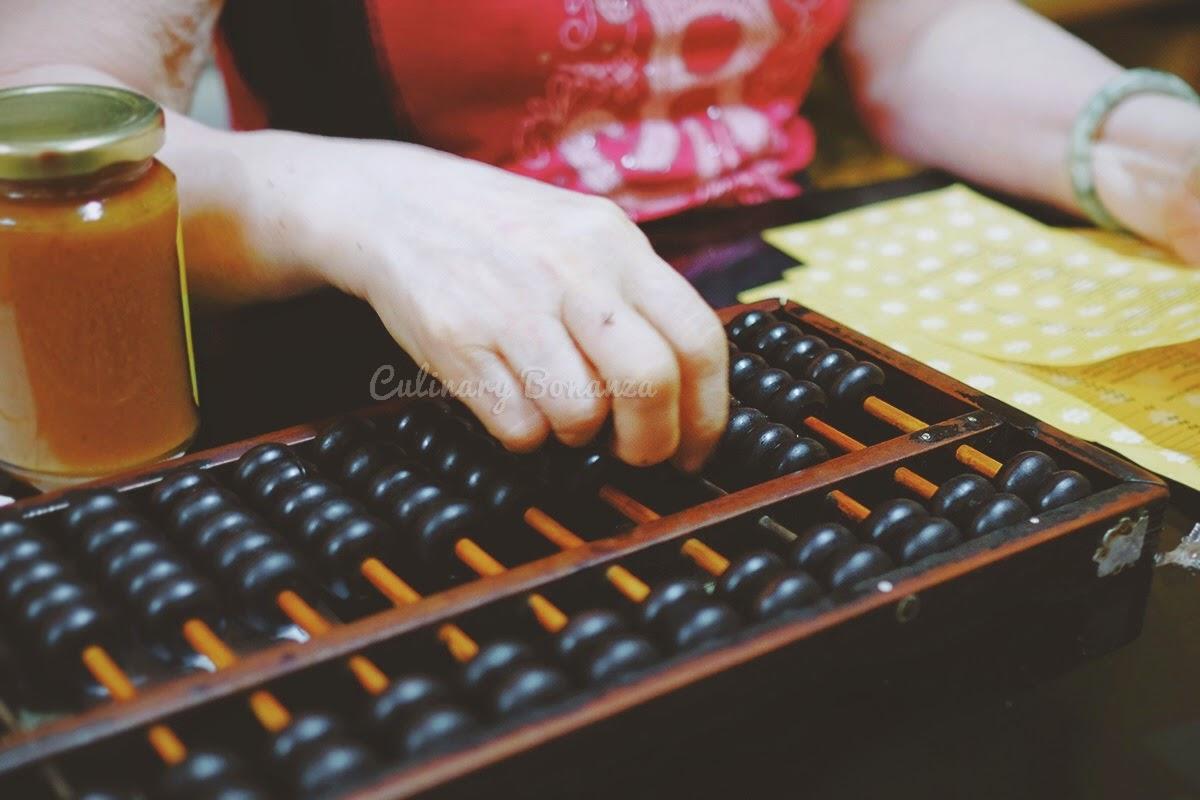 vintage chinese abacus