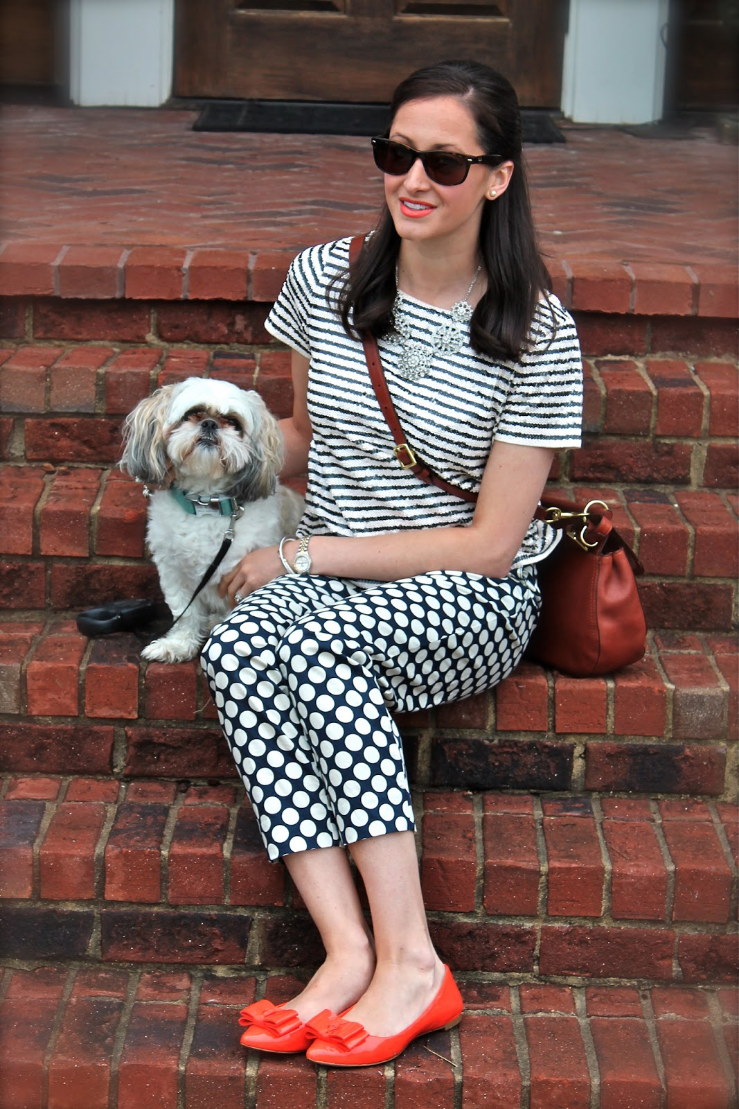 Wake Up Your Wardrobe: what i wore: nod to nautical