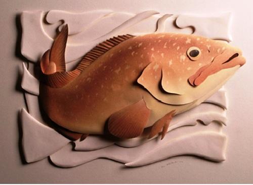 Carlos Meira delicate paper sculpture