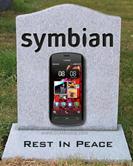 RIP Symbian; Nokia to bury Symbian OS this summer